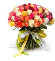 """Красивый букет из 101 розы """"Выбор победителя"""""""