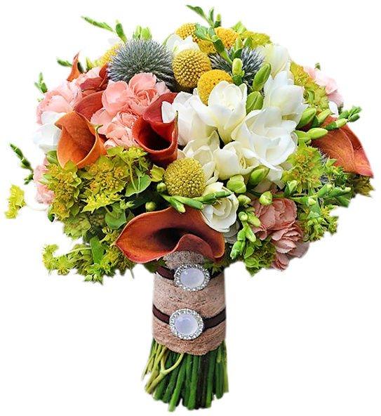 Цветы с макарони 68