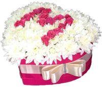 """Коробка с цветами маме """"Безмятежность"""""""
