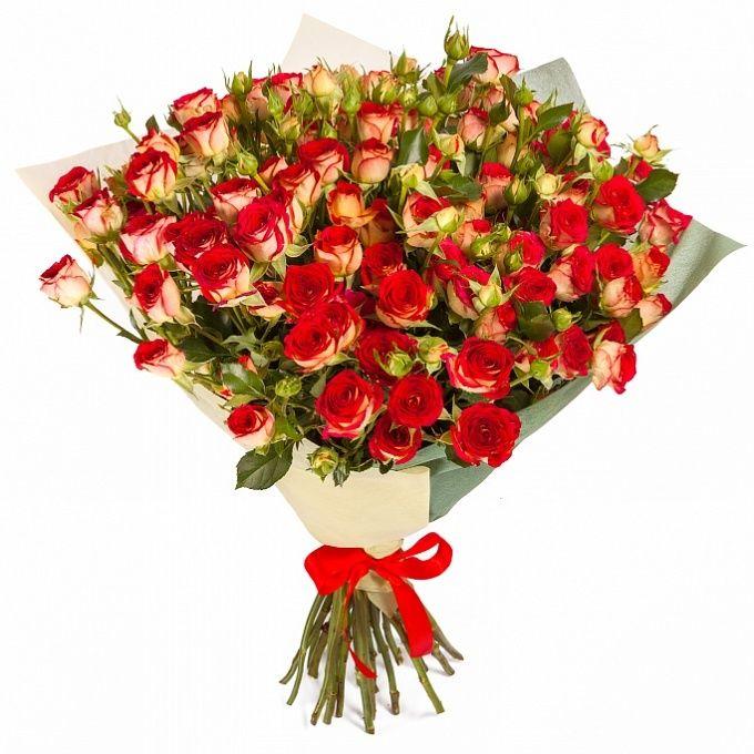 Кустовые розы мелкие