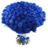 """101 синяя роза """"Индиго"""""""