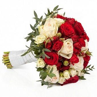 Открытки букеты белых роз фото 556