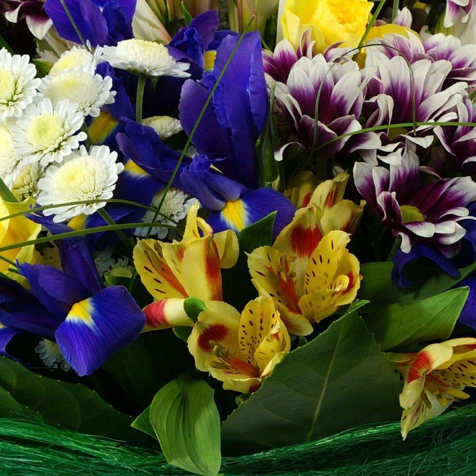 букет цветов для знакомства